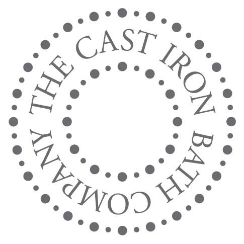 The Cast Iron Bath Company 1/2BSP Basin Pillar Taps Black Lever Chrome
