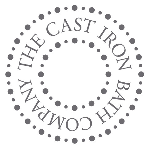 """The Cast Iron Bath Company Exposed Shower Valve, Rigid Riser and 6"""" Rose Polished Brass White Lever"""