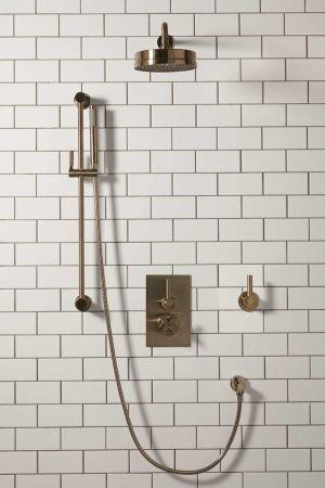 Elbe - Concealed Shower Set + Diverter - Metal Lever/Metal Lever - 8