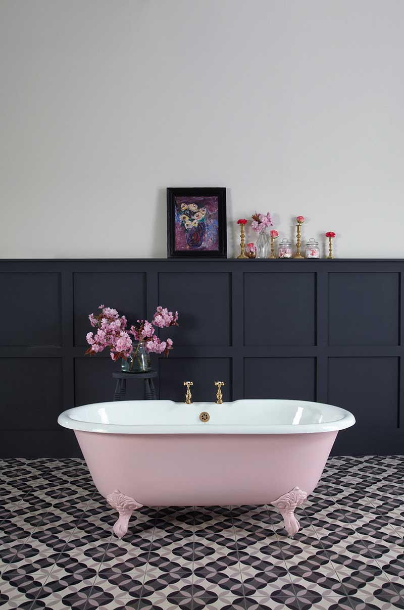the petite millbrook cast iron bath petite cast iron bath. Black Bedroom Furniture Sets. Home Design Ideas
