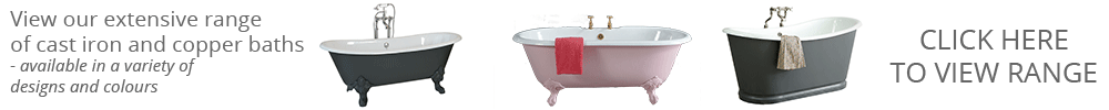 The Cast Iron Bath Company Range of Bathtubs