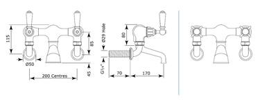 Specification drawing for - 3515