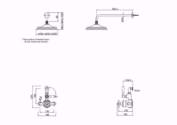 Specification drawing for - AF1S-V16