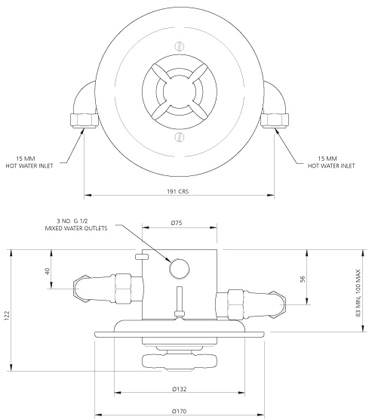 Specification drawing for - GD8800