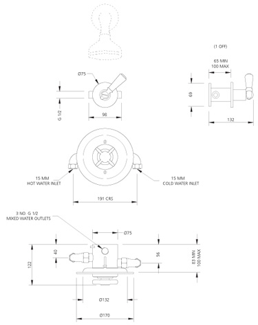 Specification drawing for - GD8801