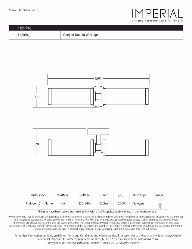 Specification drawing for - XLP1013100