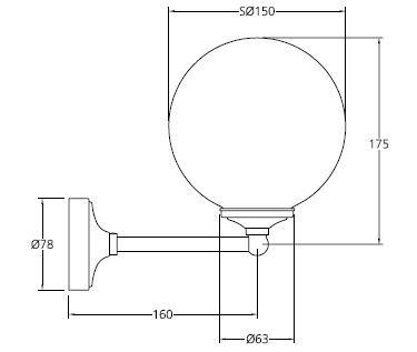 Specification drawing for - LB4000