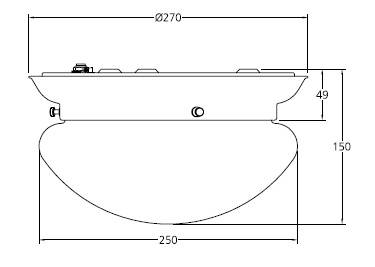 Specification drawing for - LB4004