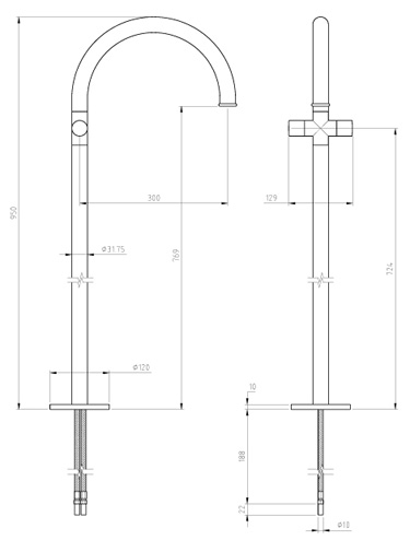 Specification drawing for - XO5115G-P